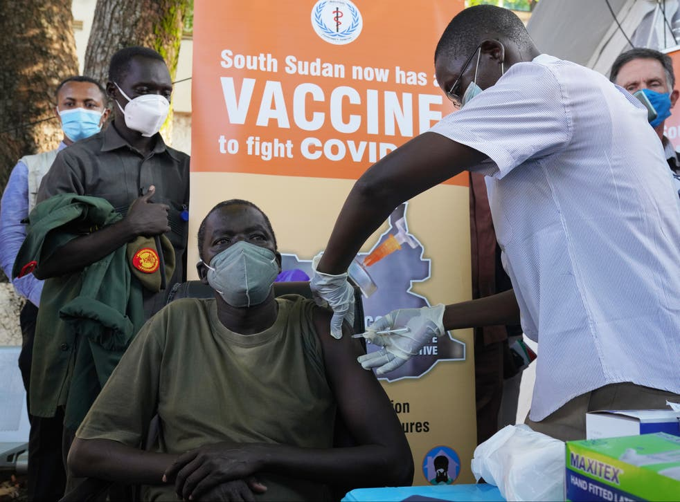 South Sudan has started vaccinating its population thanks to doses provided by Covax