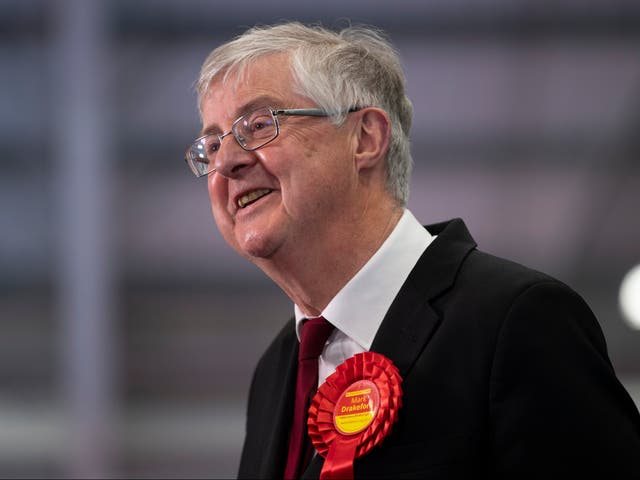 <p>'He may not be flashy, he may be a bit nerdy, a bit boring, he's a university professor, but thank God for him' one Labour politician said of Mark Drakeford</p>