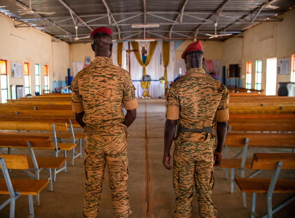 Burkina Faso Military Chaplains