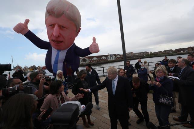 APTOPIX Britain Elections