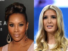 Ivanka Trump made 'racial insult' on Celebrity Apprentice, Vivica A Fox says