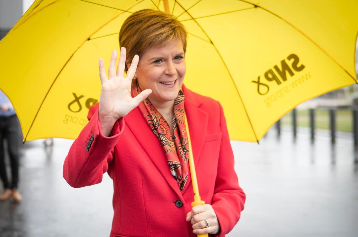 Sturgeon claims mandate for independence referendum after SNP election win
