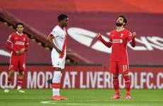 Liverpool vs Southampton LIVE: Premier League latest score, goals and updates from fixture tonight