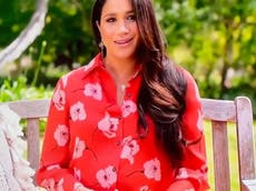 Meghan Markle makes first TV appearance since Oprah interview with Vax Live speech