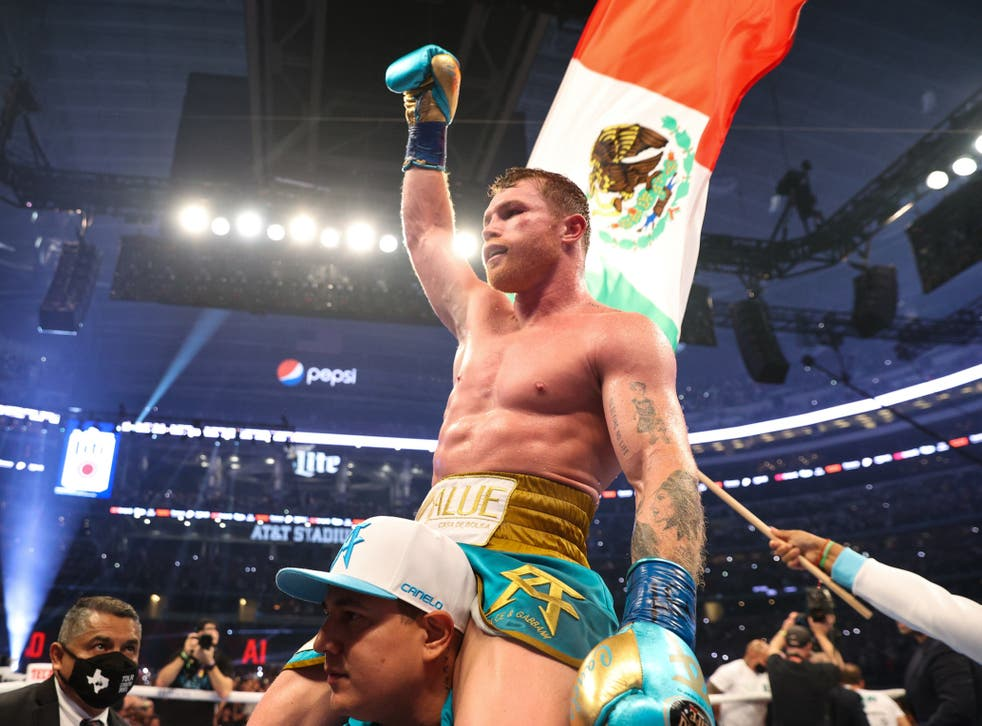 Canelo Alvarez Vs Billy Joe Saunders Result: Mexican Wins By Knockout To Unify Wbc, Wba And Wbo Titles | The Independent