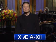 Elon Musk jokes about his child's name X Æ A-Xii in SNL opening monologue