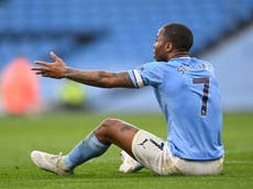Champions League final will be 'completely different game', says Raheem Sterling after Man City defeat