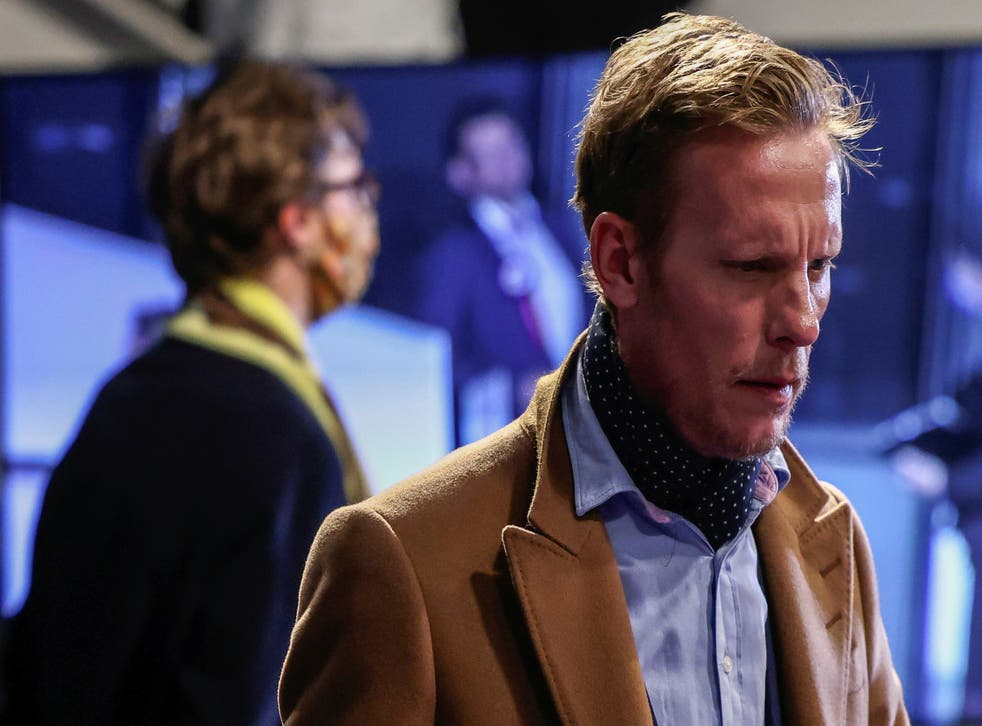 <p>Laurence Fox had campaigned on a platform of ending the Covid lockdown</p>