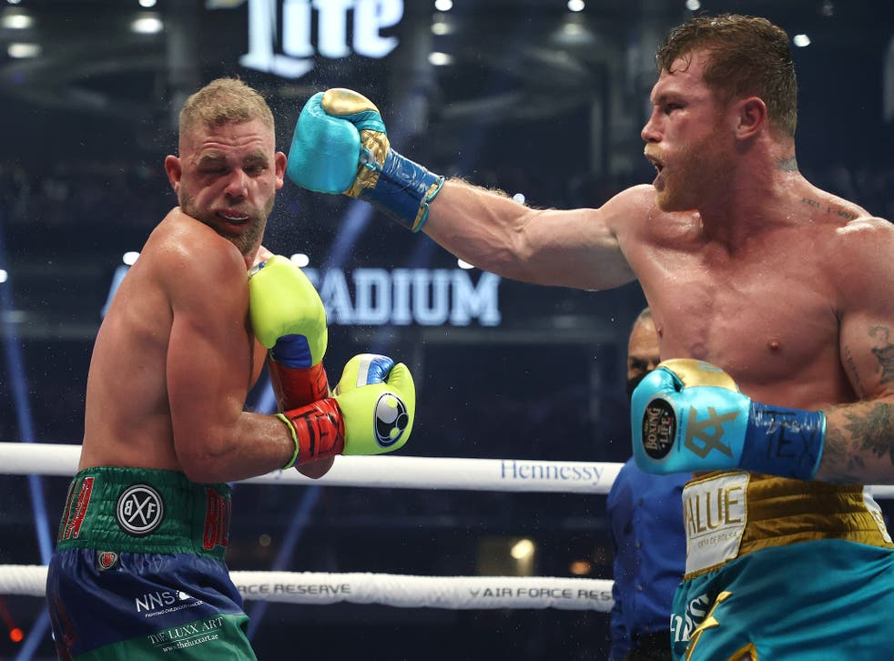 <p>Billy Joe Saunders produced a brave showing in front of more than 70,000 fans in Texas</p>