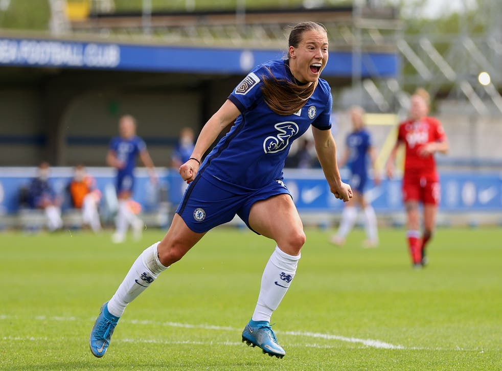 Resilient Fran Kirby reigns as Chelsea crowned Women's Super League  champions | The Independent