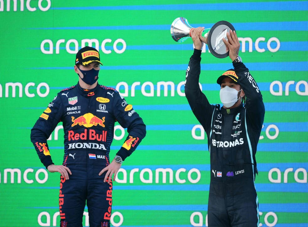 <p>Max Verstappen has seen title rival Lewis Hamilton win the past three races of the season</p>