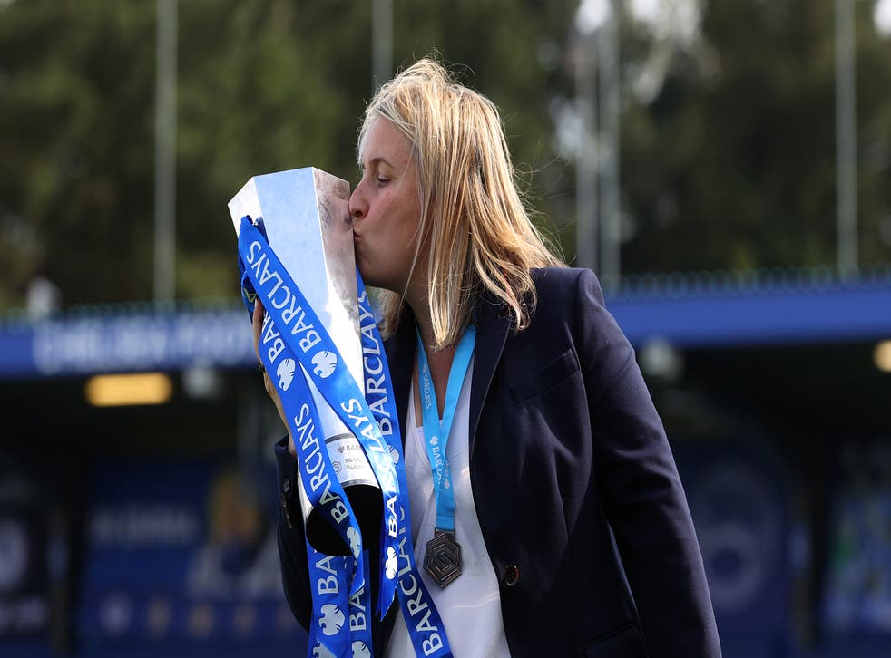 <p>Emma Hayes won her fourth WSL title in six seasons as Chelsea boss </p>