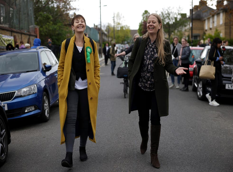 <p>Caroline Lucas and Sian Berry's party enjoyed record success in the 2021 local elections</p>