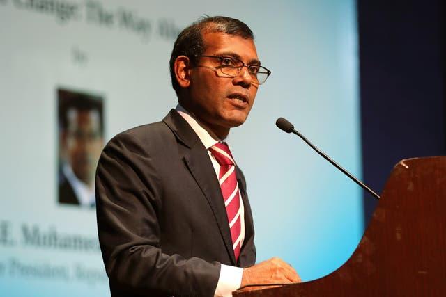MALDIVAS-EXPLOSION