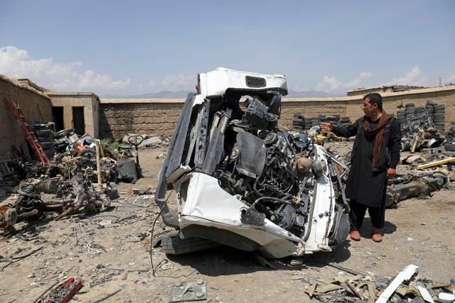Afghanistan US Scrap