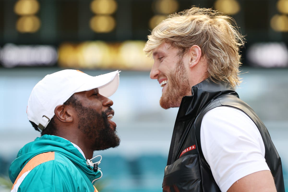 Floyd Mayweather Vs Logan Paul When Is The Fight What Weight Will It Be At And What Channel Is It On The Independent