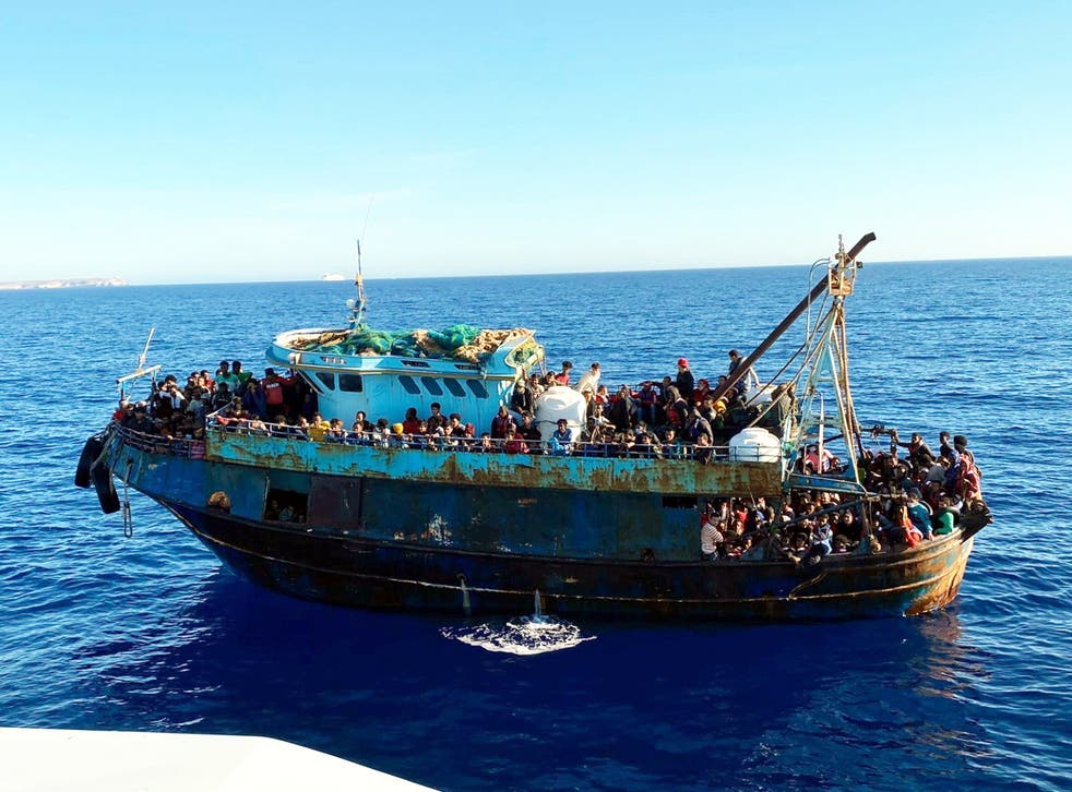 <p>Lampedusa is one of the main entry points for migrants coming from Tunisia and Libya</p>