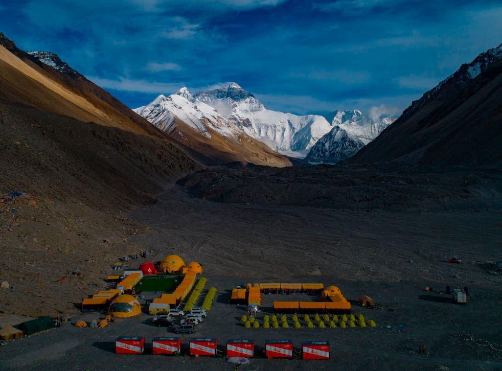 China Mount Everest