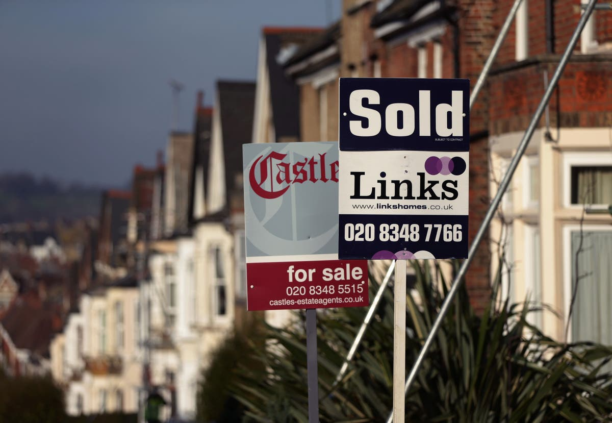 House prices: The first rung on the property ladder just got even further out of reach