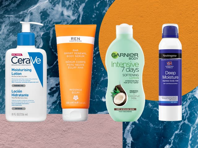 <p>Apply our top picks after a bath or shower – while the skin is still damp – to seal in moisture </p>