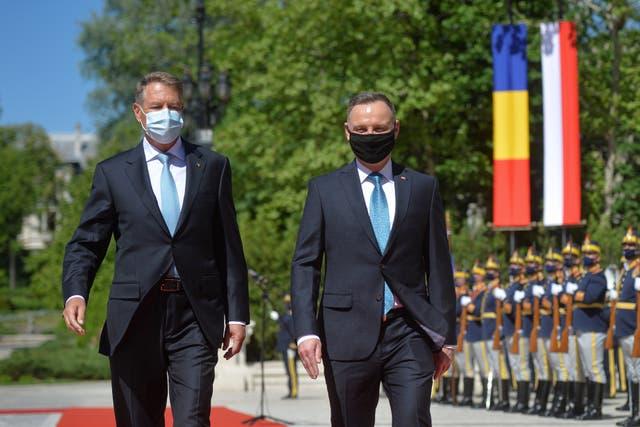 Romania Poland Duda