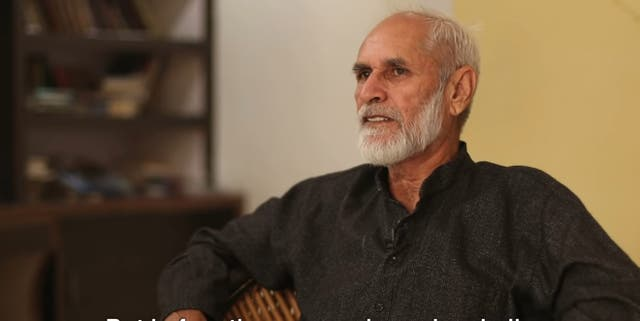 <p>Mahavir Narwal during his interview with Newsclick said in November 2020 that he hope his daughter is not in jail she could not remember his face</p>