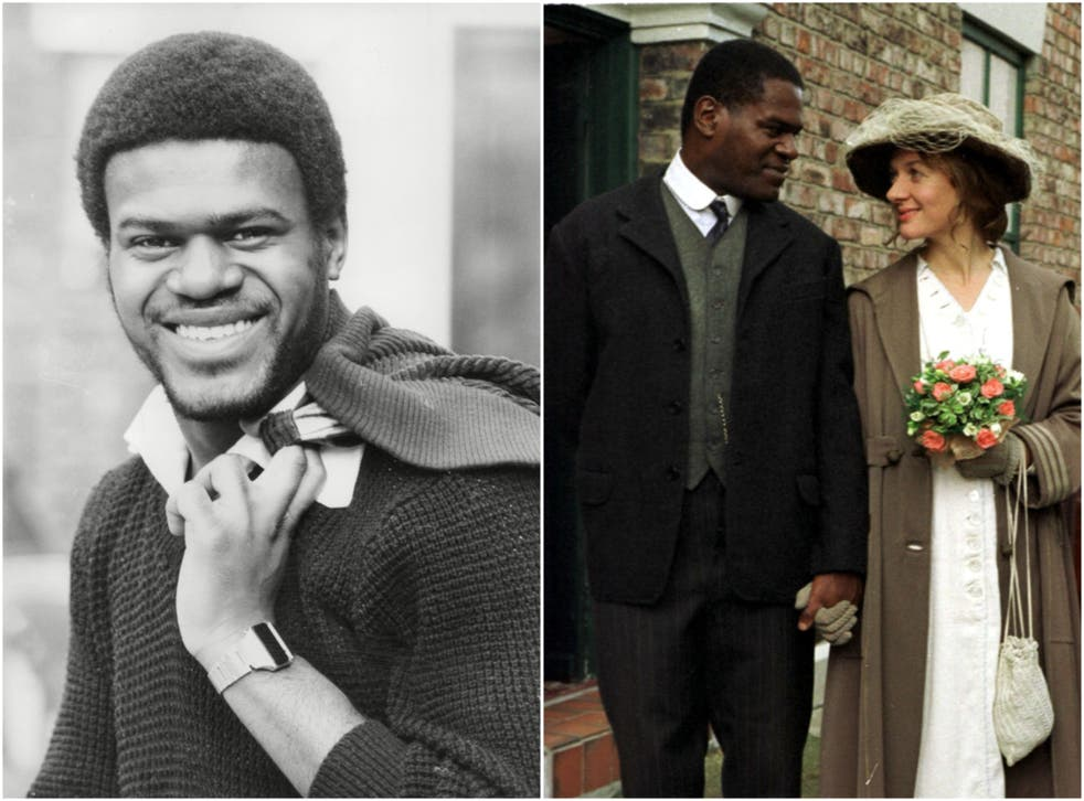 Armatrading in 1981 (left) and in 1998 TV series Colour Blind