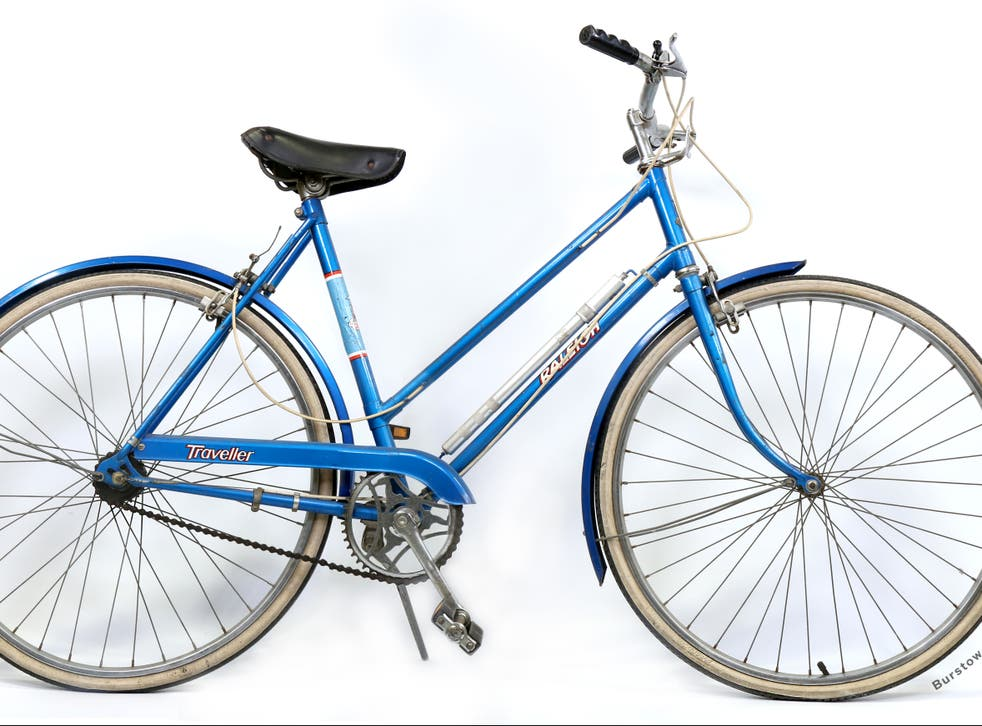<p>The 1970s Rayleigh Traveller bike formerly belonging to Princess Diana</p>