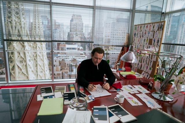 <p>Ewan McGregor as the eponymous fashion designer in Netflix's 'Halston'</p>