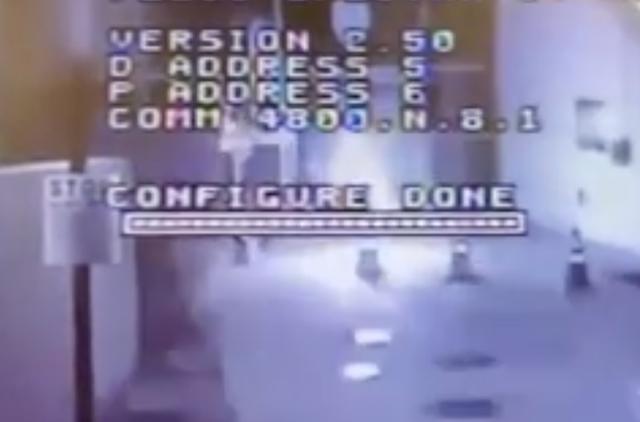 <p>LA police station firebombed in overnight attack</p>