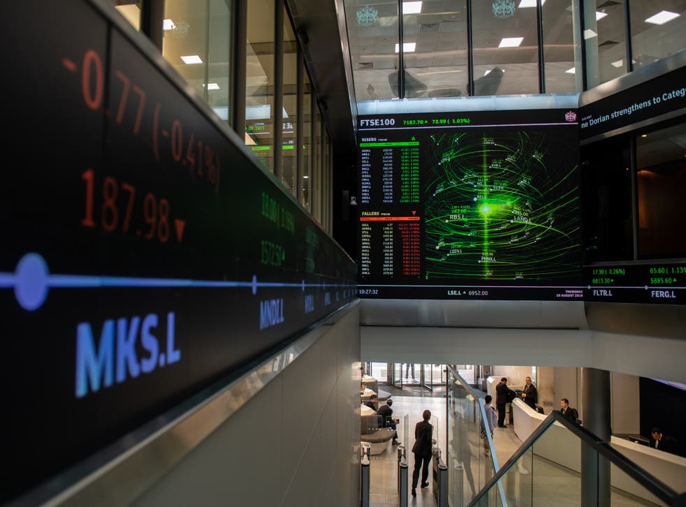 <p>FTSE 100 opened 1.5% down on Tuesday</p>