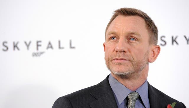 <p>Daniel Craig at the 2011 Skyfall prepiere</p>