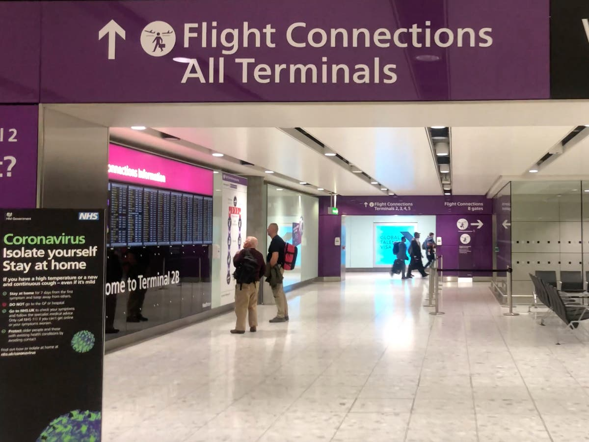 Heathrow boss accuses Border Force of 'complacency' as airport loses 6.2m passengers in April