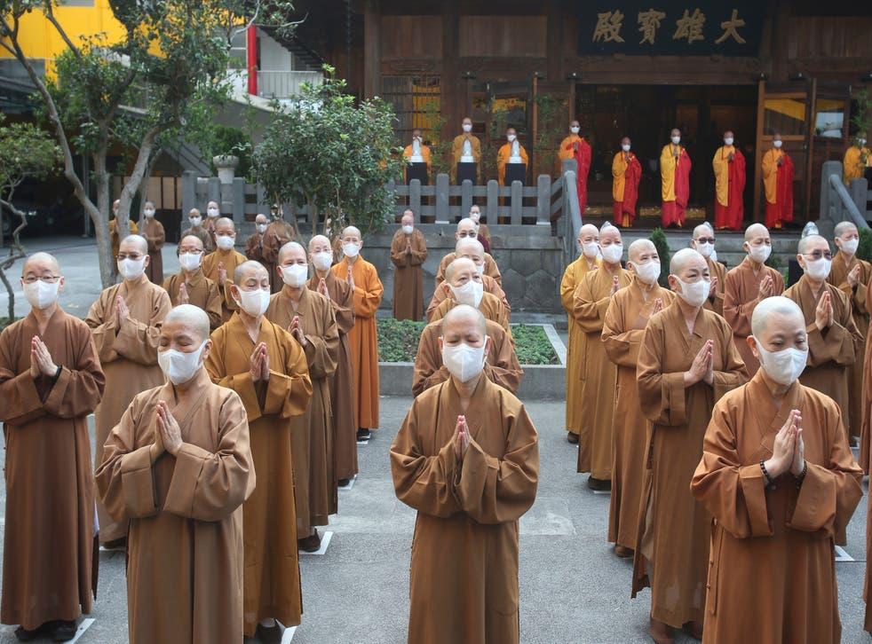 APTOPIX Taiwan Buddha Birthday