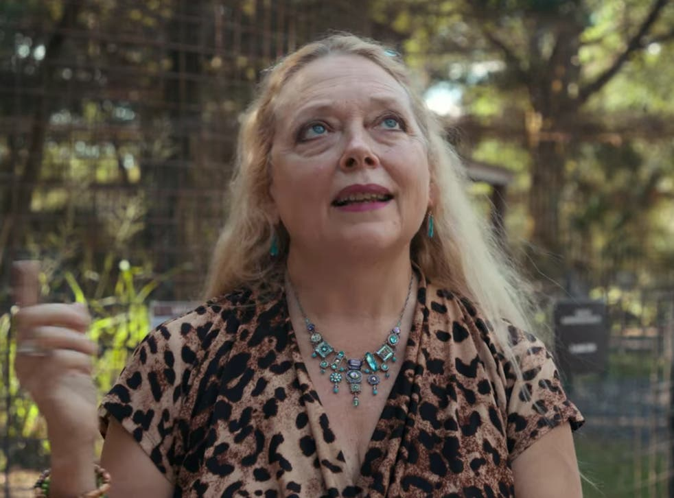 <p>Carole Baskin posted a video on her Instagram page appealing for information about the missing tiger in Texas and offered a large reward</p>