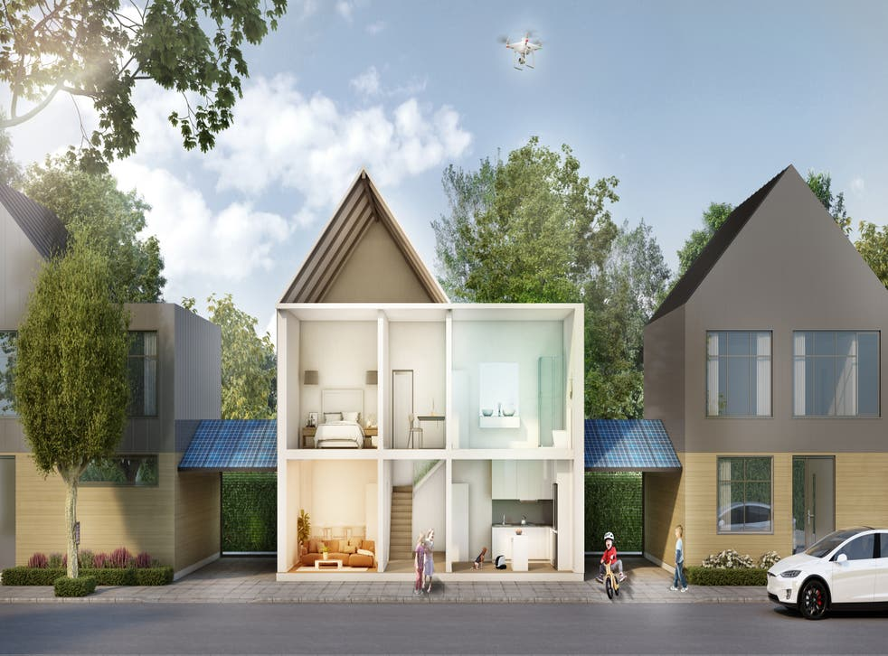 Future home illustration
