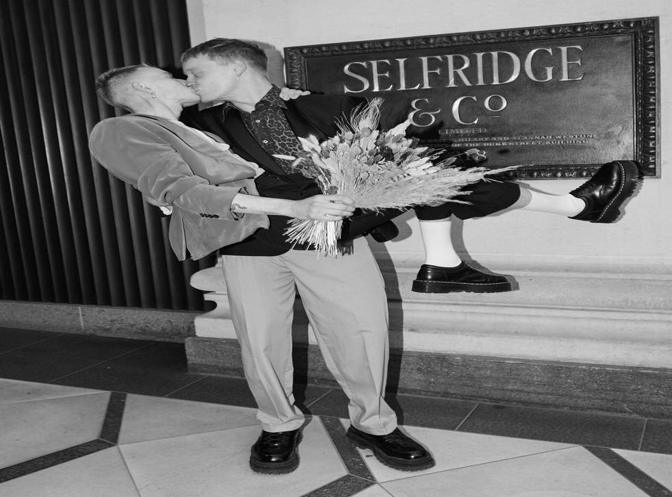 Couples can get married at Selfridges this summer. (Selfridges/PA)