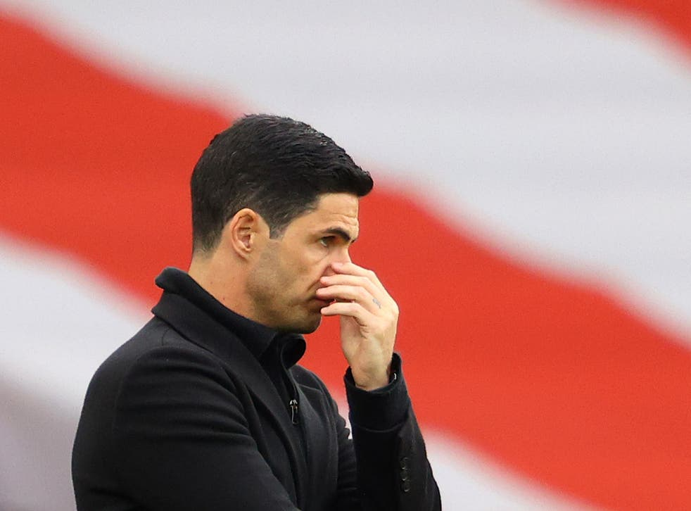 Arsenal coach Mikel Arteta