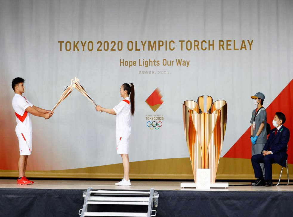 Olympics Tokyo Torch Relay