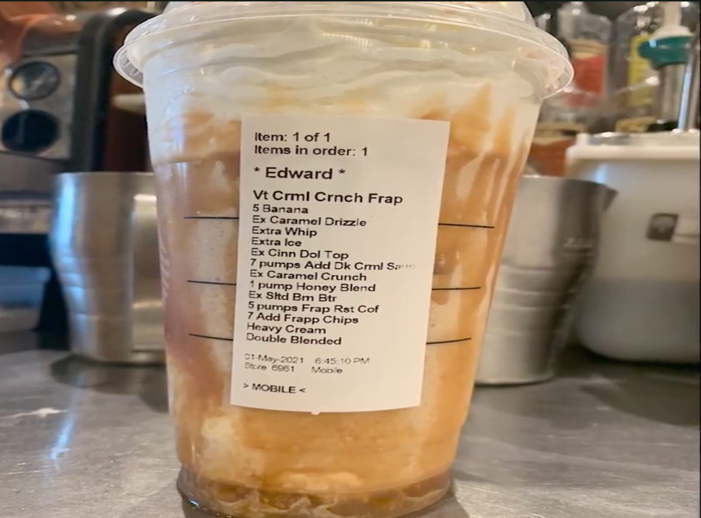 <p>Jose Morales has struck up a friendship with the man who ordered this drink despite being fired for asking customers to stop requesting them.</p>