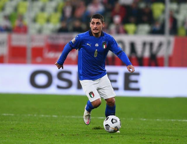 <p>Italy's Marco Verratti </p>