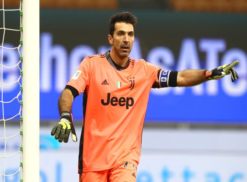 <p>Buffon has played back-up to Wojciech Szczesny at Juventus in recent seasons</p>