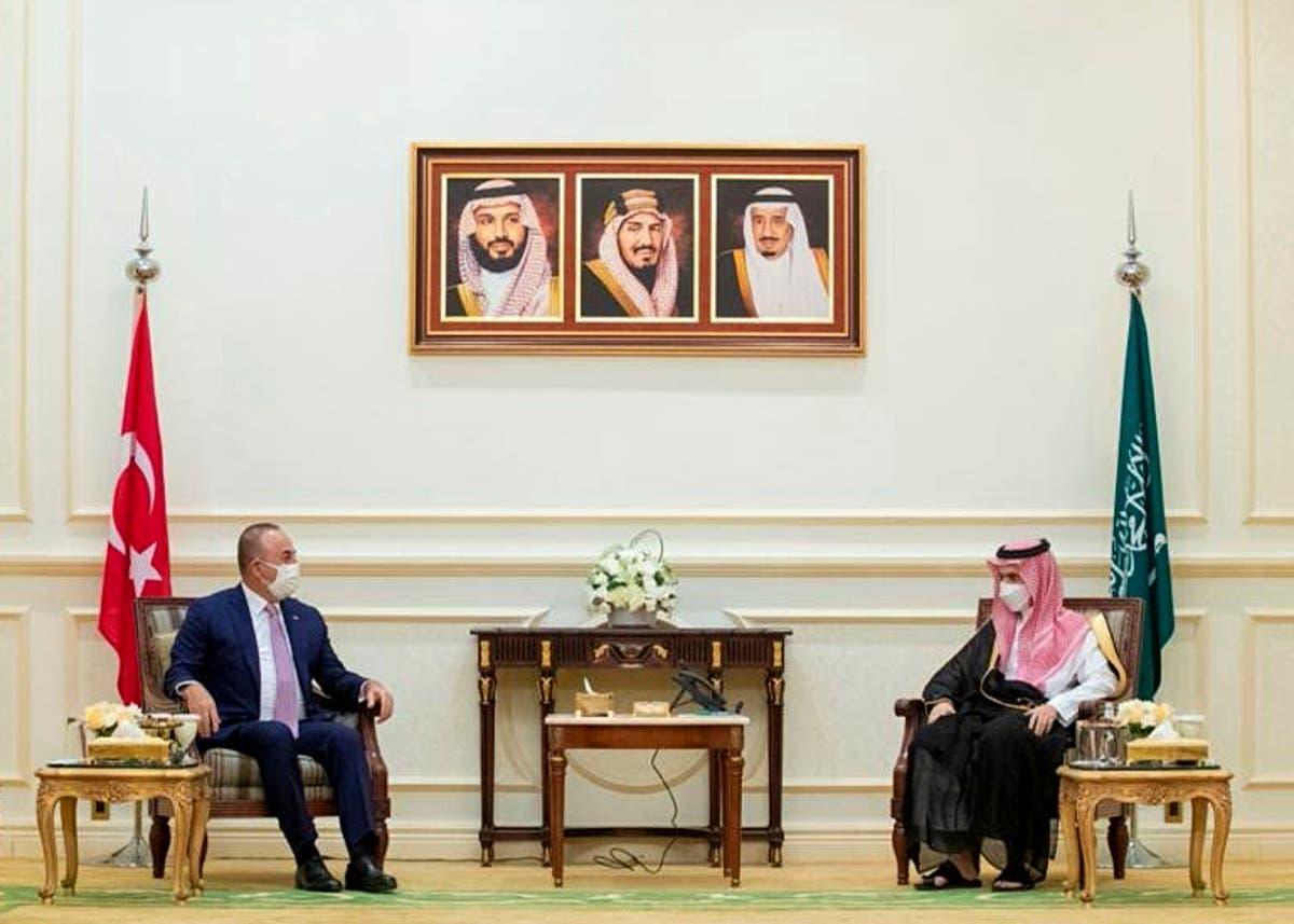 Turkish FM in Saudi Arabia to mend ties amid regional shifts Dubai Jamal Khashoggi United Arab Emirates Mevlut Cavusoglu Turkey