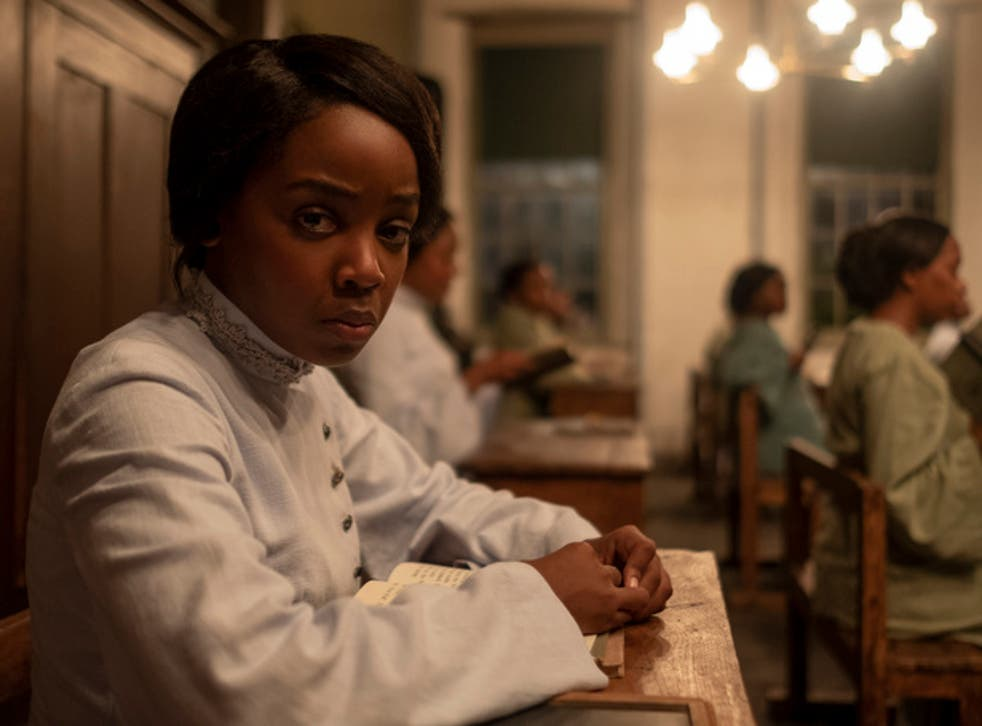 <p>Thuso Mbedu as Cora in 'The Underground Railroad'</p>
