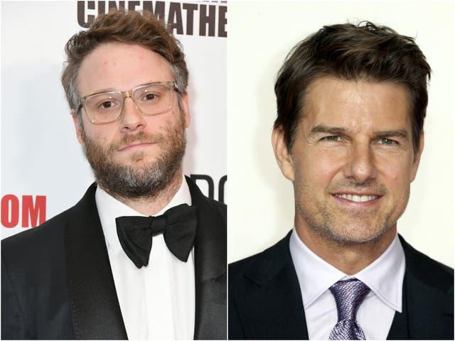 Seth Rogen Tom Cruise
