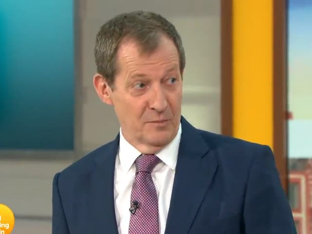 <p>Campbell, the 'Good Morning Britain' presenter who could have been Labour leader</p>