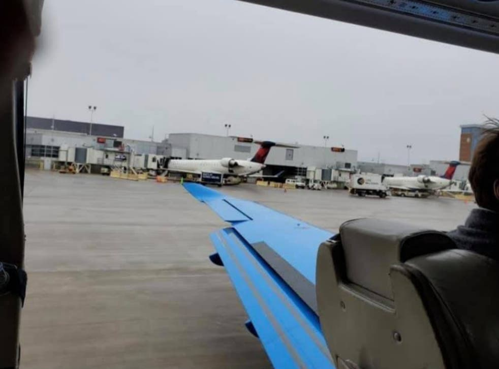 Plane door fell off just before take-off