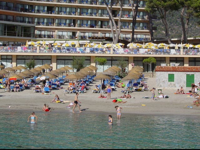 High risk? A beach resort in Mallorca