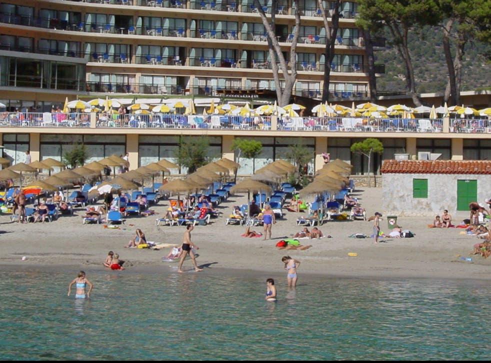 High risk? A beach resort in Mallorca