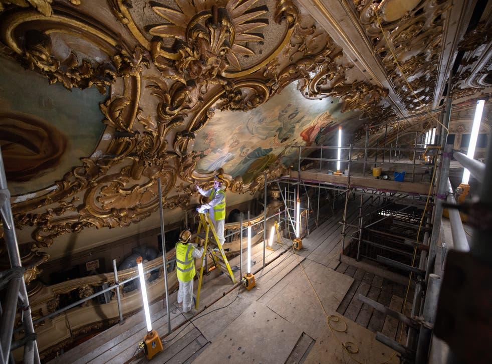 Blackpool Tower Ballroom restoration